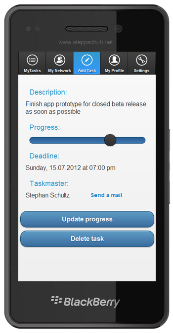 IntelliTasks - Task Übersicht