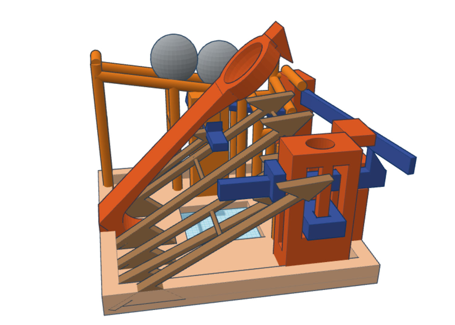 Catapult 3D Model CAD